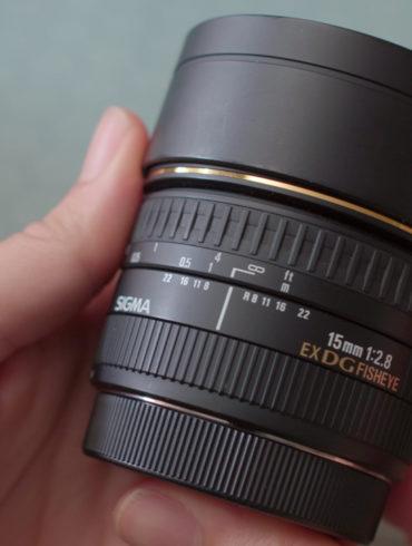 Sigma 15mm f/2.8 Diagonal Fisheye