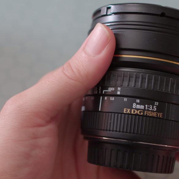 Sigma 8mm f/3.5 Circular Fisheye